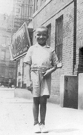 A young Walter in Harlem